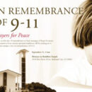 Shinnyo-en Buddhist Temple Held a Remembrance Ceremony for September 11th