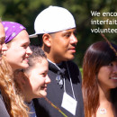 We encourage youth leadership in interfaith dialogue and action, service, volunteerism, and peacebuilding.