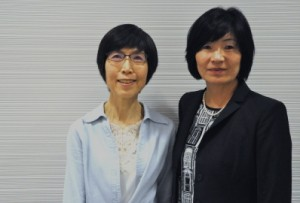 Rev. Nobuko Adachi, and Shinnyo-en Foundation Program Dir., Ineko Tsuchida